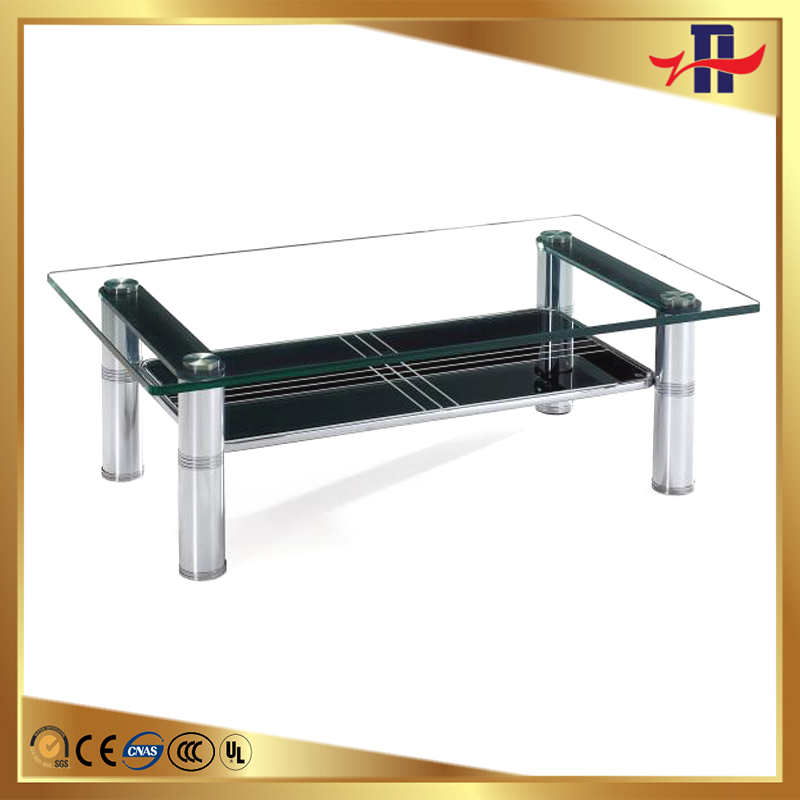 silk screen beveled tempered glass table top
