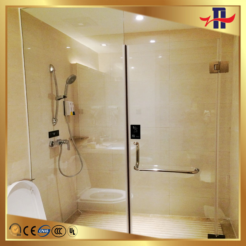 new coming clear bathroom shower glass