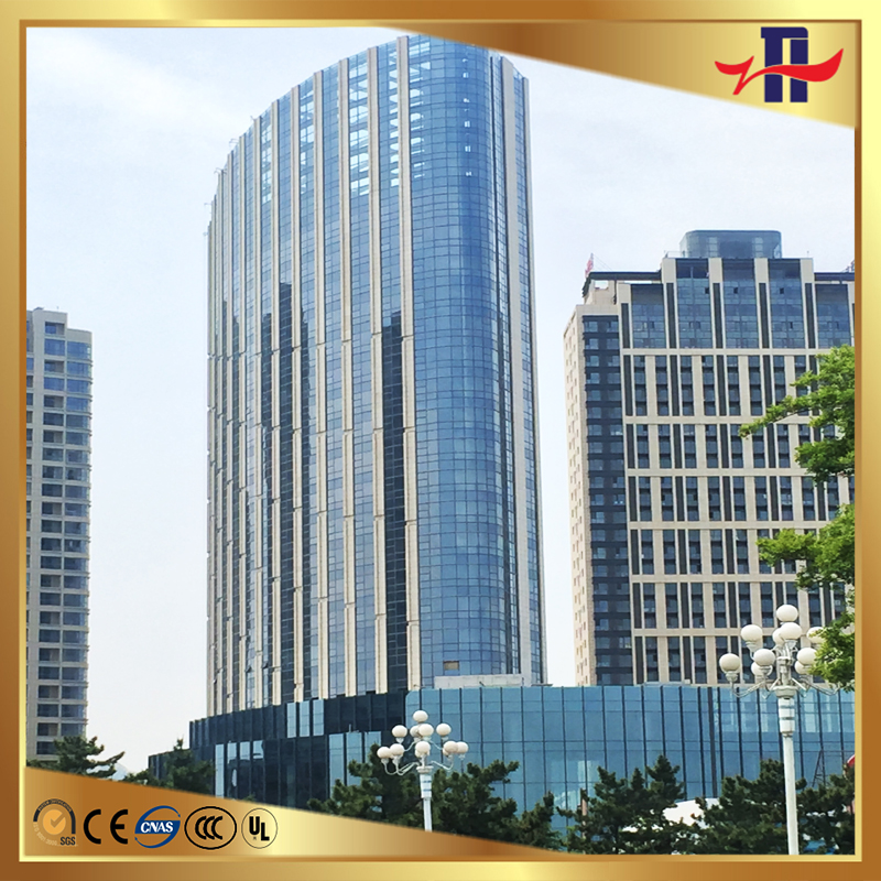 laminated hollow low-E glass for curtain wall
