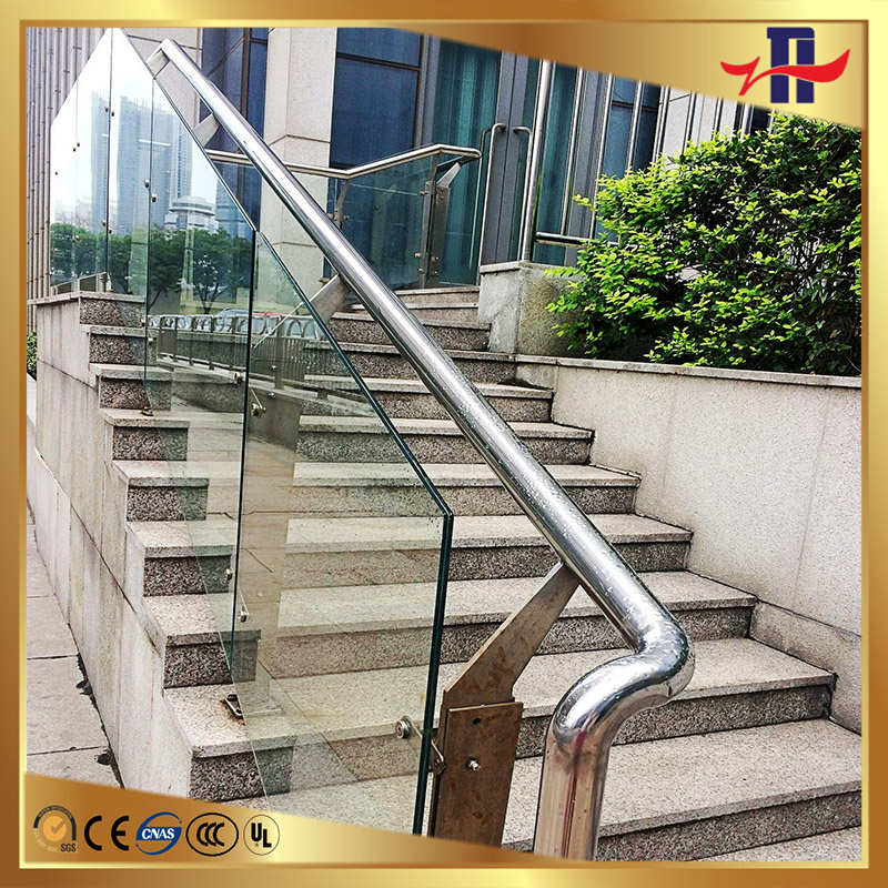 best sell float glass tempered railing