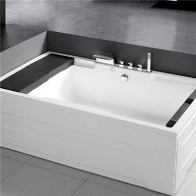 Square Alcove Soaking TubMEC3142-B