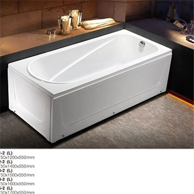 Rectangular Alcove Soaking BathtubC071-2