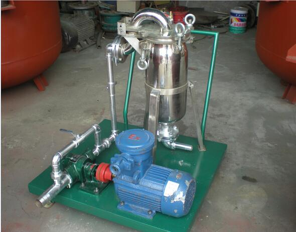 filtration machine for epoxy resin liquid bag filter machine for paint