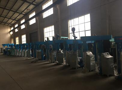 Automatic lifting/Mechanical lifting/hydraulic lifting high speed paint disperser mixer