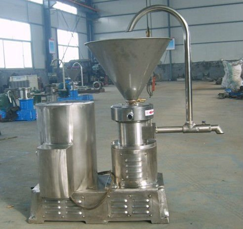 Food grade Stainless steel colloid mill peanut butter grinding mill paste grinding colloid mill