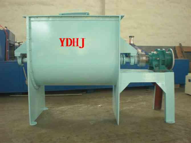 Stainless steel dry powder horizontal ribbon mixer/mixing machine