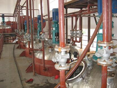Unsaturated polyester resin complete production line manufacturing equipment