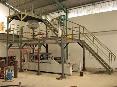 SMC sheet FRP production line making machine
