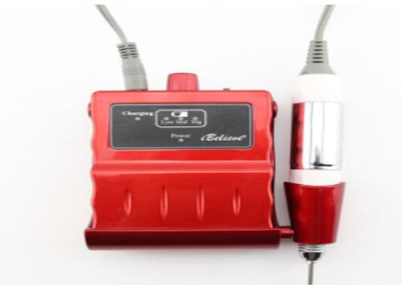 Good quality portable cordless Li-on battery nail drill