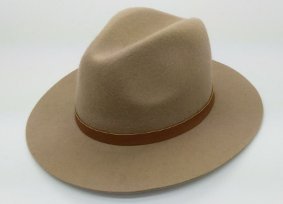 wholesale wool felt hats for women lady custom homburg