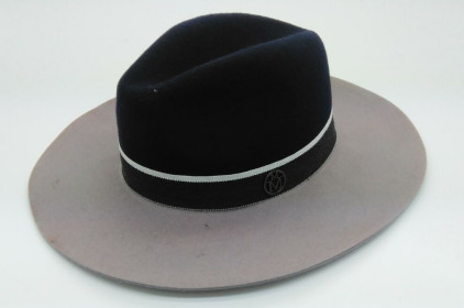 high quality 100% wool felt cap wholesale custom west traditional wool felt hat