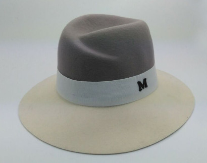 high quality wool felt homburg hat