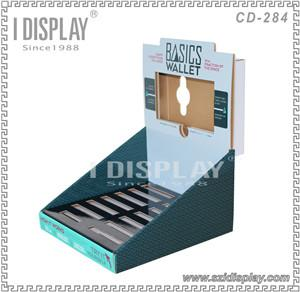 Made In China Popular Design Custom Cardboard LCD Display Rack For Supermarkets