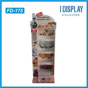 China Manufacturer Designed Cardboard Counter Displays Top For Cookies