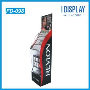 Customized Printing With Own LOGO Pallet Display Racks For Makeups Promotion