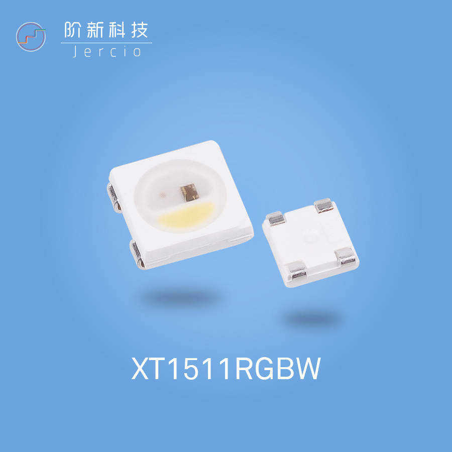Jercio individually addressable LED XT1511-RGBW,it can replace WS2812