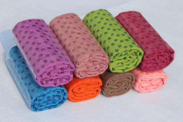 wholesale non-slip yoga mat towel players used microfiber sports towel,microfiber yoga towel