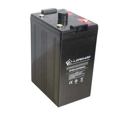 2V/500Ah Rechargeable Sealed Lead-acid Battery