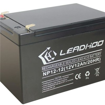 12V 12Ah AGM sealed lead acid from Shenzhen battery supplier