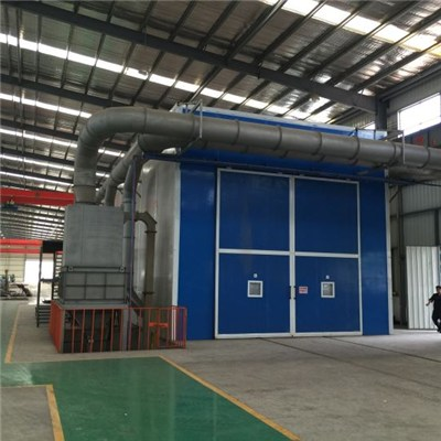 Automatic Abrasive Recycling Sand Blasting Booth