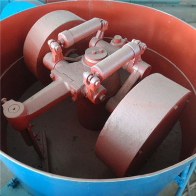 roller sand mixer machine