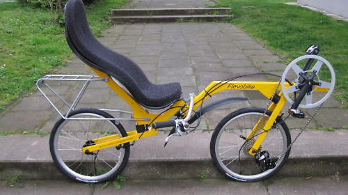 New flevo recumbent tricycle folding bike ......$700 USD