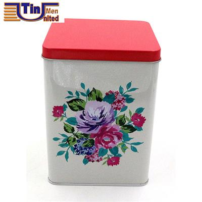 Middle Square Canned Coffee Cookie Biscuit Food Storage Packaging Metal Tin Cans