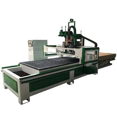 Auto Loading Unloading System Yaskawa Driver Drilling Devices Cabinet Door Panel Furniture CNC Nesting Machines Cnc Router
