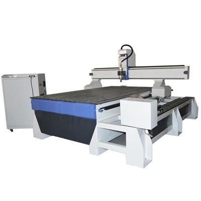 Aluminum T-slot Wood Carving Classical Furniture Redwood 3d Crafts Rotary Cnc Router Machine