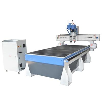 4x8 Air Cooling Spindle Double Head 1325 Atc Cnc Router Machine