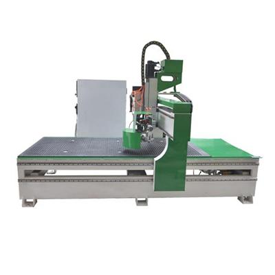 Panel Furniture Wood Door Ball Screw Atc Cnc Router Machine