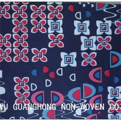 PET Heat Transfer Printed Nonwoven