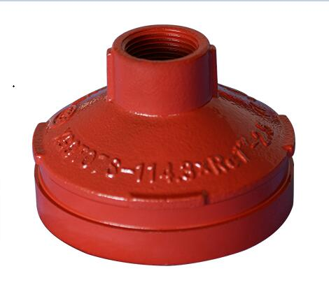 FM/UL/CE Approved threaded flange adaptor threaded Fittings in Victaulic Standard