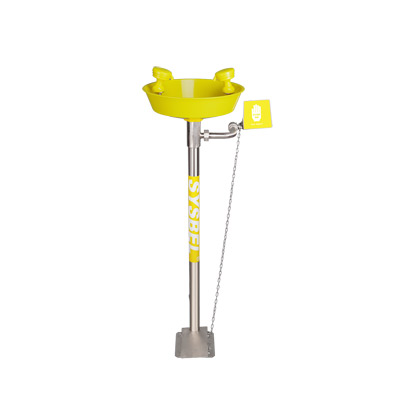 Safety Pedestal Mounted Eye Wash System