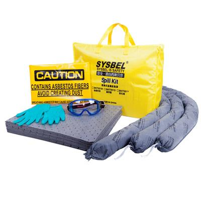 Portable Industrial Absorbent Spill Kit