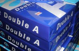 Double A A4 80gsm Copy paper $0.50 USD per ream