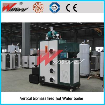 Space Saving Small Vertical Type Reliable Biomass Hot Water Boiler
