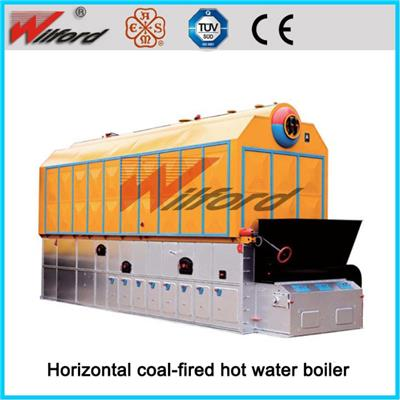 Low Pressure Horizontal Automatic Control Coal Hot Water Boiler