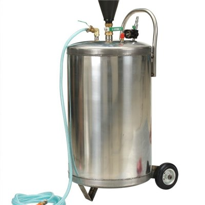 Professional Handcart CE Approved Iron Or Stainless Steel Tank Foam Machine