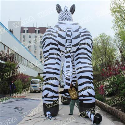 Advertising Large Inflatable Zebra Pop