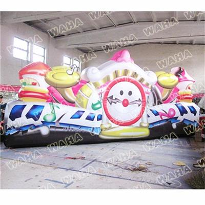 Customized Printing Inflatable Fairy Tale Wall Art For Trade Show