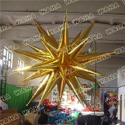 Giant Indoor Event Hanging Decor Light Inflatable Character