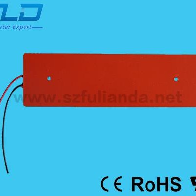 Customize Medium-low Temperature Silicon Heater Mat Element