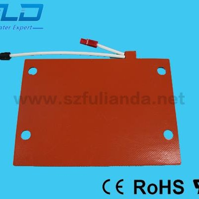 OEM High Temperature Flexible Silicone Rubber Heater Pad With UL