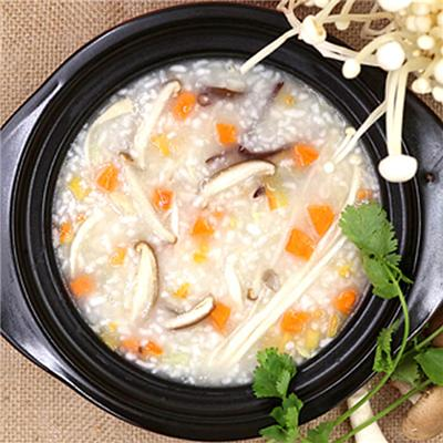 Mixed Fungus Congee,Delicious and Health Instant Food,Top supplier