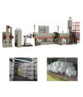 PSP fast food container extrusion line PSP foam container forming machine