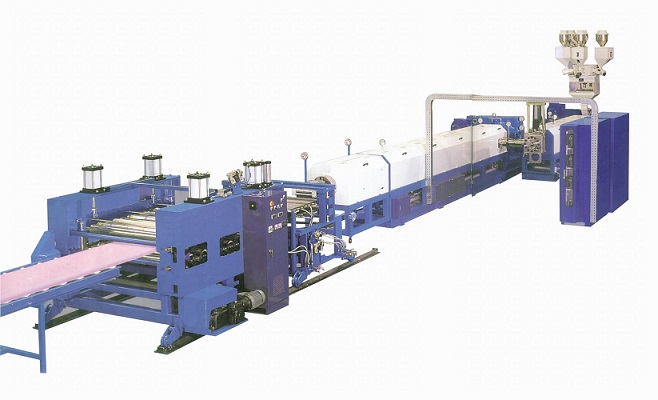 XPS foam plate extrusion line XPS extruded foaming machinery