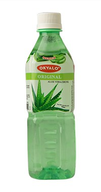 Okyalo 500ml organic aloe vera juice with original flavor Okeyfood