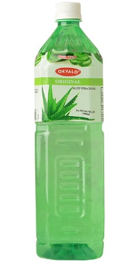 Okyalo 1.5L organic aloe vera juice with original flavor Okeyfood
