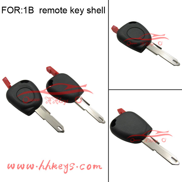 Auto key for RENAULT Twingo Clio Kangoo Master Remote car key shell 1 Button